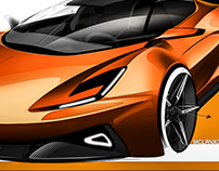 McLaren Super Sport Series _ FREE SKETCH