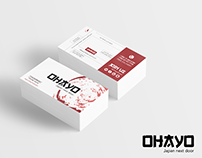Business Card for OHAYO