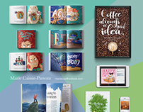 Graphic Design- Typography and Book Design Focus