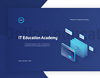 Website for online education academy | ITEA