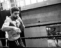 Photoshoot Giovanni de Carolis World boxing Champion