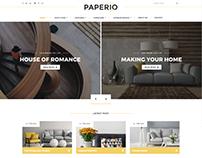 Paperio - WordPress Blog Theme