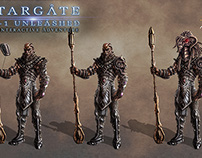 Stargate SG-1 Unleashed Concept Art