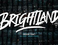 Brightland - Brush Font