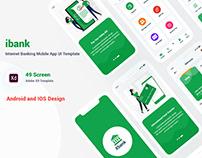 Internet Banking Mobile IOS App UI