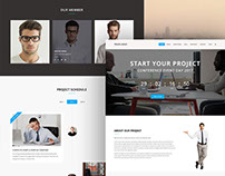 Free Download Web Design PSD..