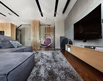 Apartment in Yekaterinburg by Hot Walls