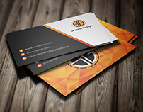 Poly business card
