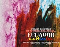 Cartel Bienal IWS Quito-Ecuador 2017