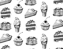 Dessert Illustrations