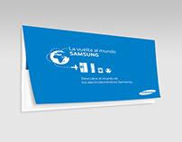 """Samsung-Plan de incentivos """"La vuelta al mundo Samsung"""""""