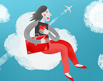 The secret lives of plane passengers