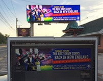 Gillette Stadium Billboard