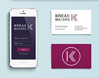 Branding Identity - Break Makers