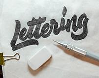 Lettering set _ Vol. 1