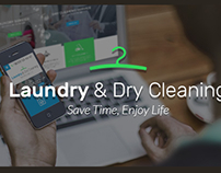 Laundry Cleaning Services Website Theme