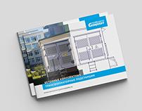 Буклет и брошюра для строительной компании