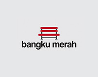 Bangku Merah Logo & Business Card Design