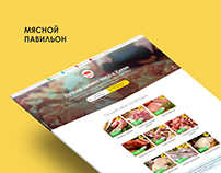 Landing page for Meat pavilion
