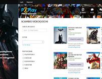 Applicazione Web: P2Play