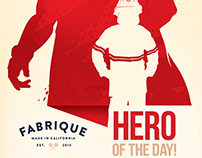 Fabrique coffee poster