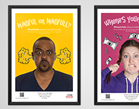 Happy Minds Mental Health Posters