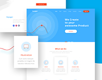 Voyager Creative Agency Landing page