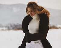 """Editorial """" girl from the mountains """" with Sylwia Butor"""