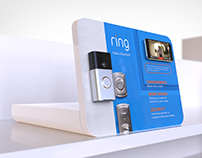 RING Video Doorbell On-Shelf Display