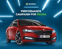 Performance campaign for ŠKODA
