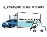 Mitsubishi Space Star TV Commercials