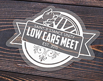 LOW CARS MEET Sticker