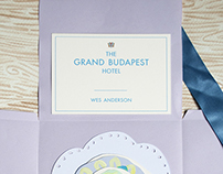 The Grand Budapest hotel - book cover