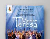 "Poster design ""Madre Teresa, il musical"""