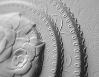 3D Embossed Business Cards with Letterpress