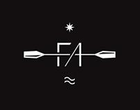 FA KAYAK branding
