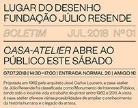 Boletim nº1 Fundação Júlio Resende