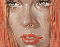 Milla Jovovich - Leeloo - The Fifth Element