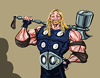 What if Thor was actually really crazy !!