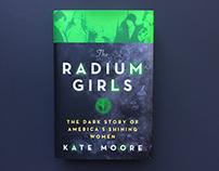 """""""Radium Girls"""" Book Cover Design"""