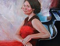 Modern Woman's Portrait