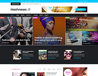 Hashnews - Modern Magazine & Newspaper HTML Template