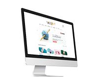 Design of online store