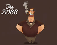 The Boss ( Character Design )