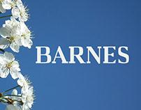 Barnes - Free Serif Font