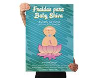 Fraldas para Baby Shiva