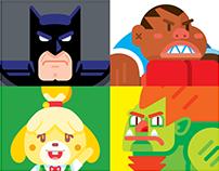 Héroes de Vectores 6