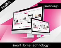 Smart Home Technology UI Design