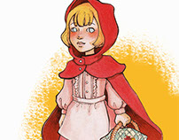 How I Draw Video: Little Red Riding Hood
