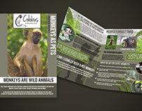 Colobus Conservation Monkeys As Pets Brochure